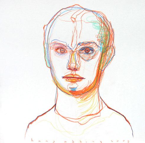 09107 color pencil 40x40 no original available