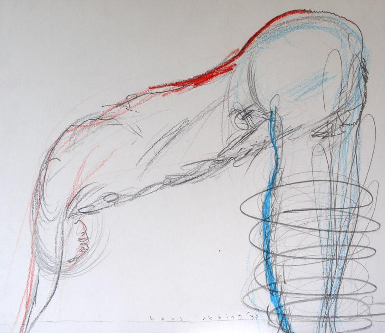 Drawing 1990 50 35x30 1