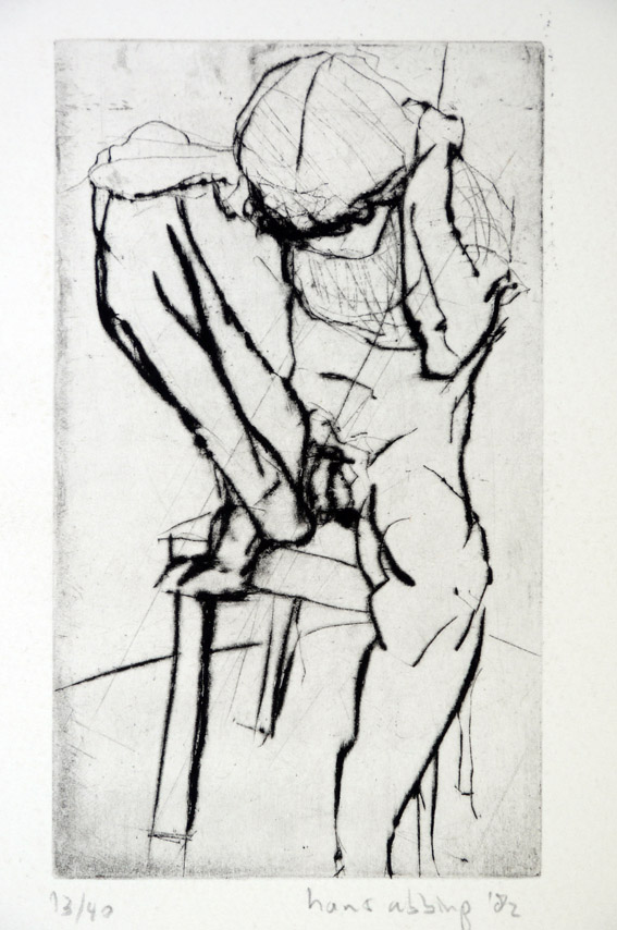 Drypoint a 1982 21