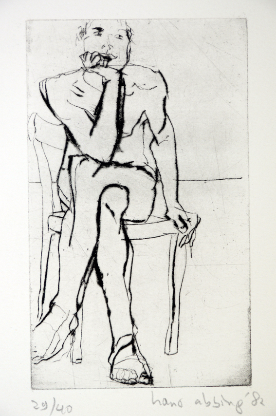 Drypoint a 1982 22