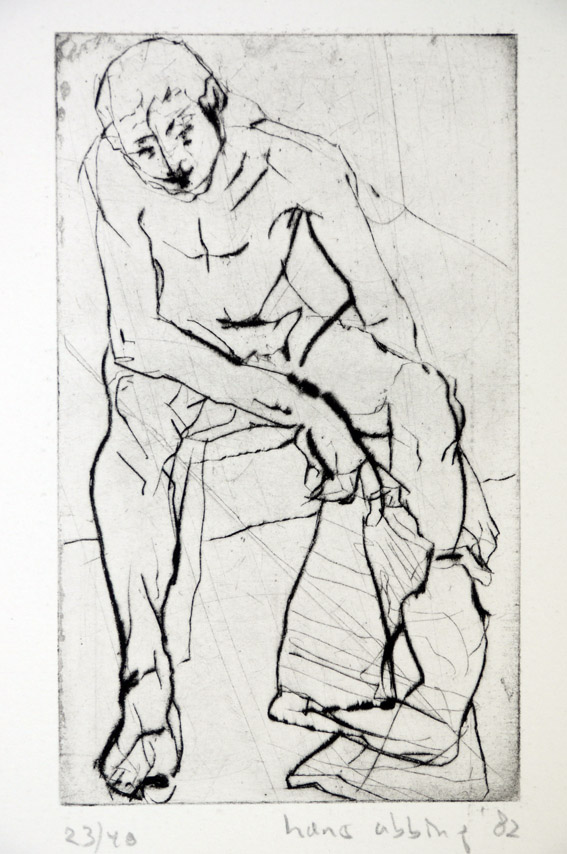 Drypoint a 1982 23