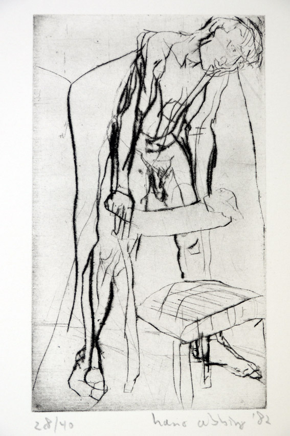 Drypoint a 1982 24