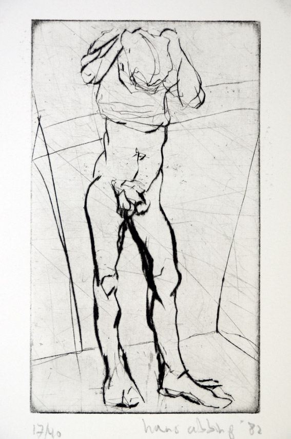 Drypoint a 1982 25