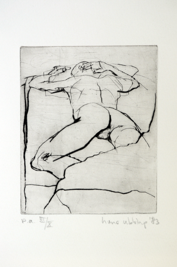Drypoint a 1983 14